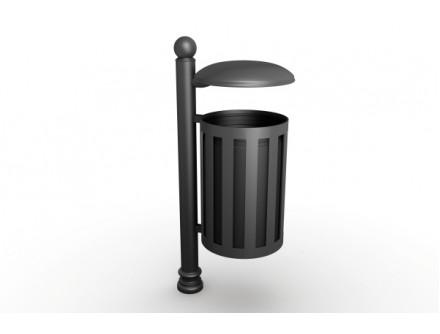 Kôš odpadkový Kov KO001