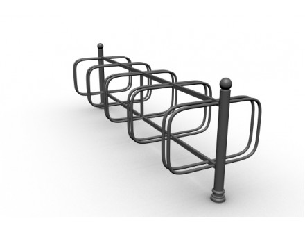 Stojan na bicykle obojstranny, 10 miesta